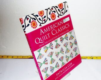 AMERICAN QUILT CLASSIC Buy Store Repair Patterns Log Cabin Irish Chain Triangles Stars Baskets Curves Hex Applique Pieced 18 & 20 c Applique