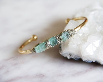 Fluorite and Pyrite Bracelet
