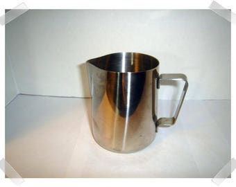 Stainless Steel Pitcher with handle/ Kitchen/Home Decor/ Supplies*