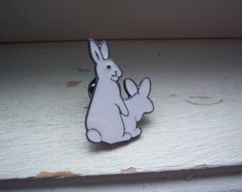 Humping Bunny Pin - Humping Rabbit Pin