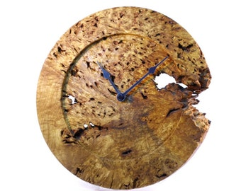 Oak Root Wall Clock - Organic Wall Clock  - Wild Wood Wall Clock