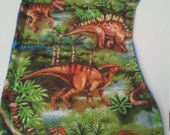 Dinosaurs on the Jungle Burp Cloth