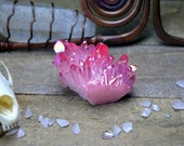 Pink Aura Quartz - Creepy Hollows Crystals - Gemstone for Universal Love