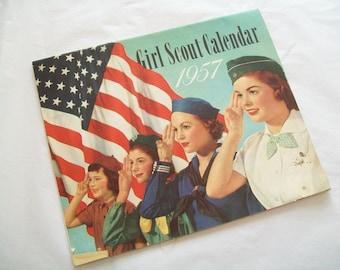 1957 Girl Scout Calendar
