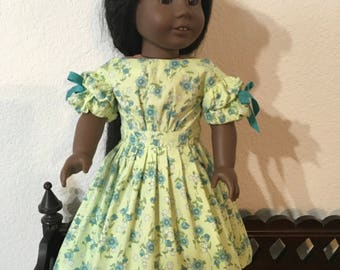 Civil War Style Dress for 18 inch doll