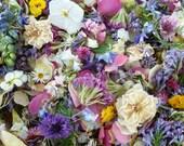 Dry Petals, Wedding Confetti, Pastel, Real Confetti,  Aisle Decor, Flower Girl, Lavender, Dry Flower, Wedding Decoration, 2 US cups Confetti
