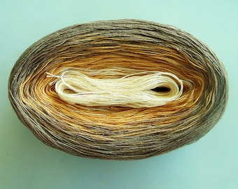 TOULOUSE --  Color Changing Cotton yarn --  480 yards/100 gr --  Fingering Weight