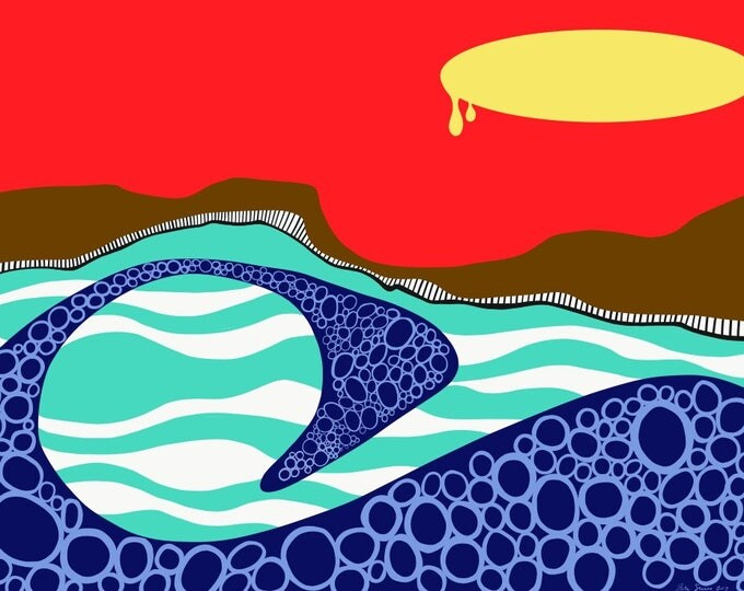 Sunrise III Digital Print