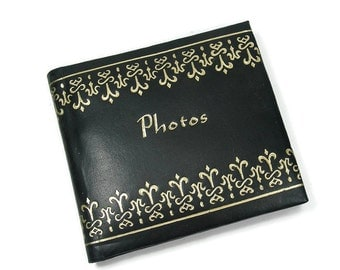 Small Black Photo Album
