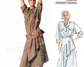 Vogue 1384 Issey Miyake Blouse Skirt size 10 FF