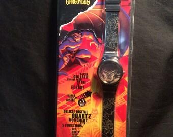 Gargoyles Cartoon Lenticular Face Wrist watch - 1990s