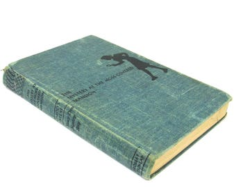 nancy drew mystery story  ...  vintage book circa 1941   ...  the mystery at the moss covered mansion