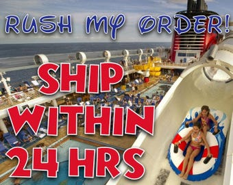 RUSH MY ORDER! Ship within 24 hours!