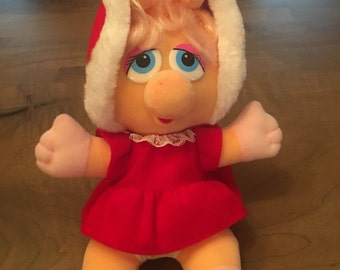 Vintage 1978 baby Holiday Miss Piggy