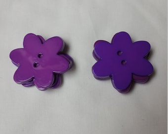 10 purple favorite findings Big Blossom buttons