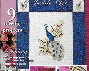 Innovations Machine Embroidery & Textile Art Magazine Nine Project
