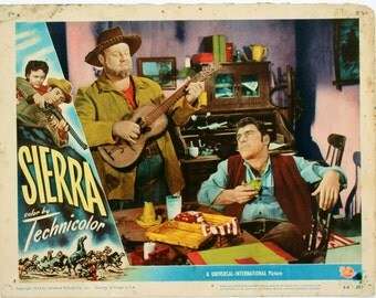 SIERRA LOBBY CARD, 1950, Original