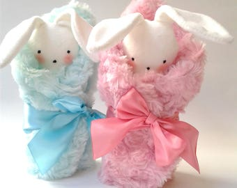 Baby Gift,little girls, Little Bunny,Easter Bunny,plush toy,baby nursery, Baby shower,baby toys, soft toys