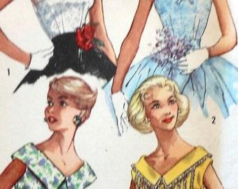Vintage Blouse Sewing Pattern UNCUT Simplicity 2084 Size 12