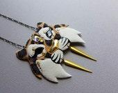 Leopard-print Tiger Necklace