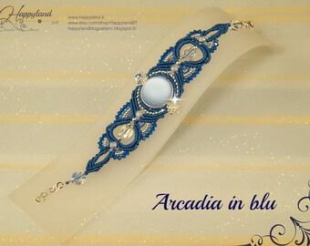 Arcadia bracelet, macramè,   50% DISCOUNT