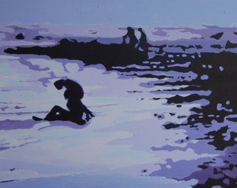 Acrylic Painting on Canvas Original Artwork