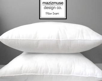 """Hold for Nicolette - 12""""x18"""" Pillow Form, Outdoor Indoor Pillow Insert, Quick Dry Poly-Fill, Purchase with Mazizmuse Pillow Covers Only"""