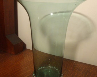 Beautiful Hand Blown Glass Vase