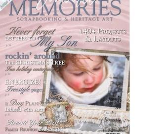 Somerset Memories Artistic Scrapbooking Magazine December January 2008 Issue