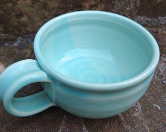 Pottery Soup Mug, Pottery Soup Bowl, Handled Soup Mug, Soup Mug, Soup Crock, Oversized Mug,Ready To Ship