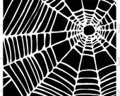 Spiderweb Stencil