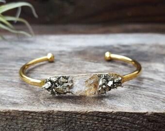 Herkimer Diamond Jewelry Herkimer Diamond Bracelet Mothers Day Gift Diamond Birthstone April Birthstone Bracelet April Birthstone Jewerly