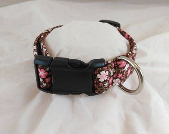 Cowgirl Calico Dog Collar, Cowgirl Calico Cat Collar,