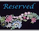 RESERVED FOR DIANA
