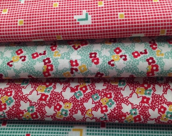 Back Porch Prints by Kaye England for Wilmington fabrics - quilt cotton half yard bundle 1930's reproduction fabric
