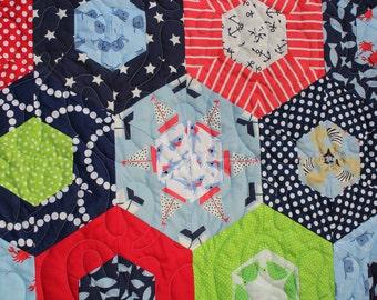 Nautical Handmade Custom Quilt / COMING SOON