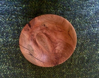 Wild Cherry Wood Bowl