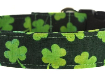 St. Patrick's Day Dog Collar - The Clovers