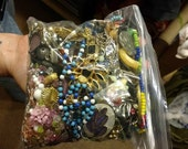 Craft supplies, costume jewlery, bag o parts, funky junk, found objects