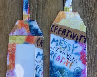 Creative luggage tag, travel, crafts, baggage, backpack, gift bag