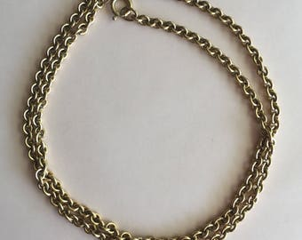 Vintage Heavy Gold Filled Chain