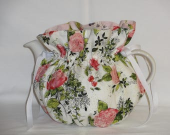 Pretty Peonies Reversible 6 Cup Teapot Cozy