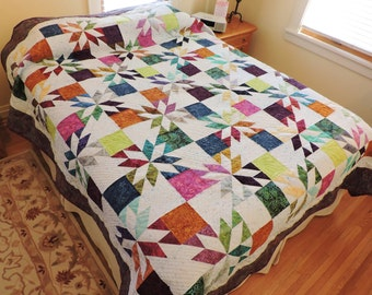 Hunter's Star Queen Size Quilt