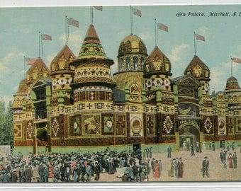 Corn Palace Mitchell South Dakota 1910c postcard
