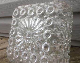 Mid Century Modern Glass Ceiling Light Fixture