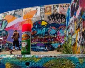 Austin Graffiti Wall Fine Art Photographic Print