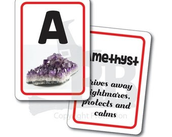 ABC Crystal Flash Cards