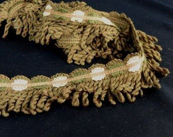 GreenDecorative Bullion Fabric Trim Fabric