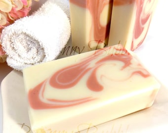 UNSCENTED French Clay Milk and Butter soap - aloe vera, and rich creamy exotic butters - cold process
