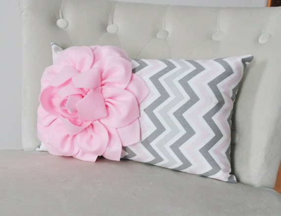 Light Pink Ruffle Throw Pillow : Light Pink Pillow Cover Pink Decorative Throw Pillow Cover